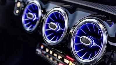 2018 Mercedes A-Class air vents