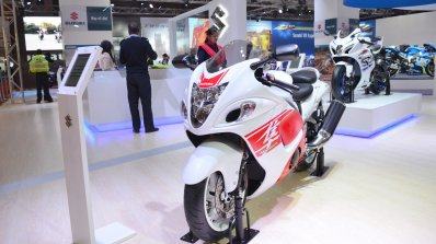 2018 Suzuki Hayabusa Showcased Auto Expo 2018 Live