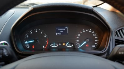 Ford EcoSport Petrol AT review centre console