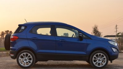 Ford EcoSport Petrol AT review side view