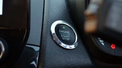 Ford EcoSport Petrol AT review start-stop button
