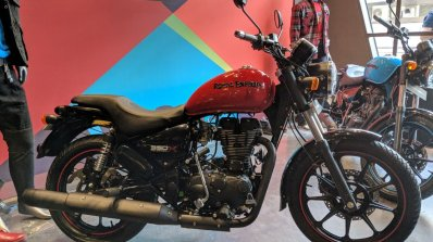 Royal Enfield Thunderbird 350X Red right side India launch