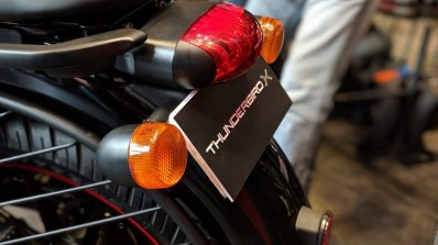 Royal Enfield Thunderbird 350X Red tail light India launch