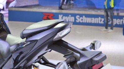Suzuki GSX-S750 tail light at 2018 Auto Expo