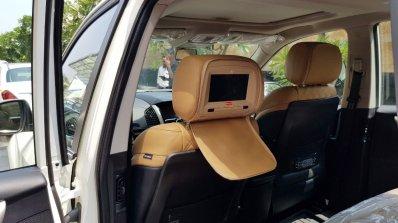 2018 Mahindra XUV500 rear seat infotainment