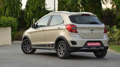 Ford Freestyle review rear three quarters view