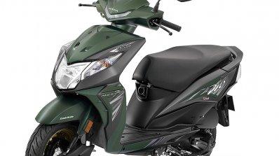 2018 Honda Dio Deluxe press green