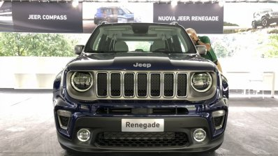 2019 Jeep Renegade Facelift In 10 Live Images From Torino Motor Show
