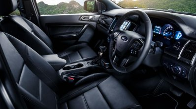 Facelifted Ford Everest (Facelifted Ford Endeavour) interior