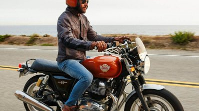 Royal Enfield Interceptor Int 650 Riding Shots Fro