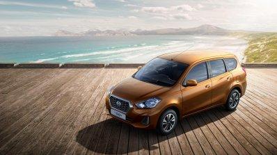 2018 Datsun Go Plus Facelift Front Three Quarters