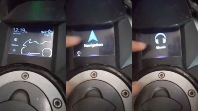 Yamaha Yzf R15 Modified Multifunction Touch Screen