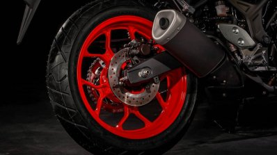 Yamahamt 03 2019 Ice Fluo Rear Wheel