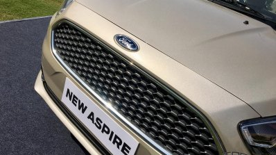 2018 Ford Aspire Facelift Review Grille