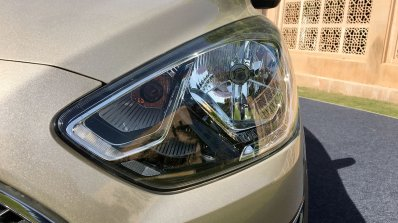 2018 Ford Aspire Facelift Review Headlight 2