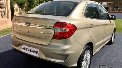 2018 Ford Aspire Facelift Review Image Rear Three