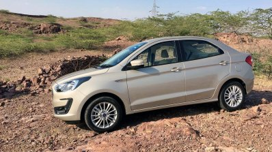 2018 Ford Aspire Facelift Review Side Profile