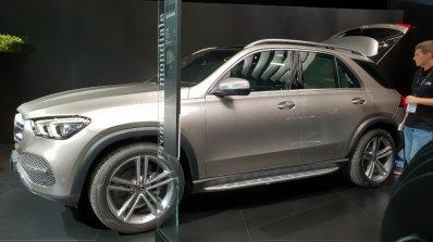 2019 Mercedes Gle Paris Motor Show 2018 Image Side