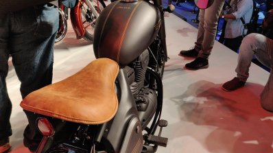 Jawa Perak Bobber Leather Seat