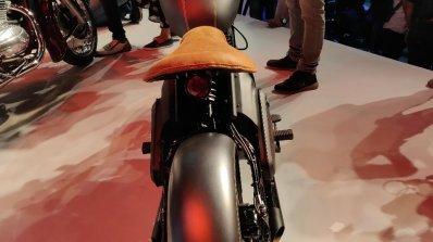 Jawa Perak Bobber Rear Profile