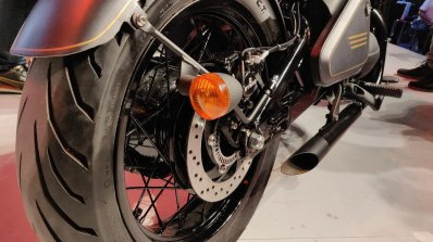 Jawa Perak Bobber Rear Tyre And Disc Brake