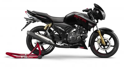 2019 Tvs Apache Rtr 180 Right Side
