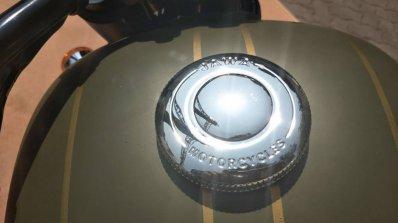 Jawa Forty Two Galactic Green Fuel Tank