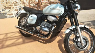 Jawa Forty Two Halleys Teal Right Front Quarter