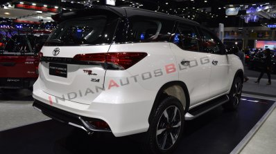 Toyota Fortuner TRD Sportivo displayed in India, to be