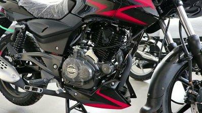 Updated 2019 Bajaj Pulsar 150 Twin Disc Engine Lef