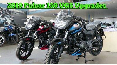 Updated 2019 Bajaj Pulsar 150 Twin Disc Left Front