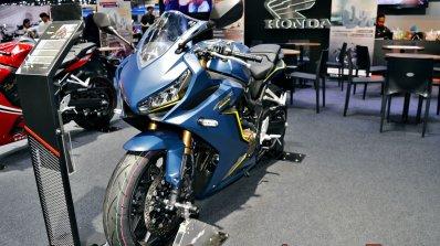 2019 Honda Cbr650r Blue Thai Motor Expo Front Left