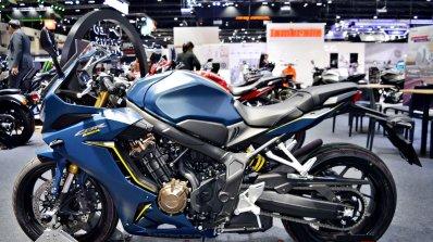 2019 Honda Cbr650r Blue Thai Motor Expo Left