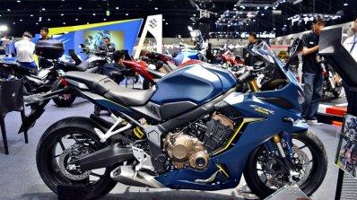 2019 Honda Cbr650r Blue Thai Motor Expo Right Side