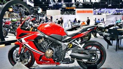 2019 Honda Cbr650r Red Thai Motor Expo Left