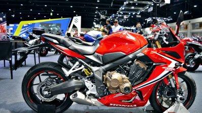 2019 Honda Cbr650r Red Thai Motor Expo Right Side