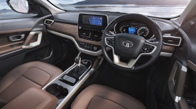 Tata Harrier Interior Press Image Dashboard