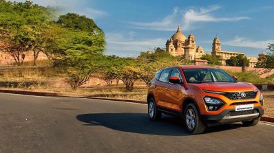 Tata Harrier Media Drive Event Jodhpur Front Three