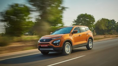 Tata Harrier Media Drive Jodhpur Front Half Three
