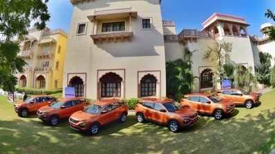 Tata Harrier Media Drive Jodhpur Front Three Quart