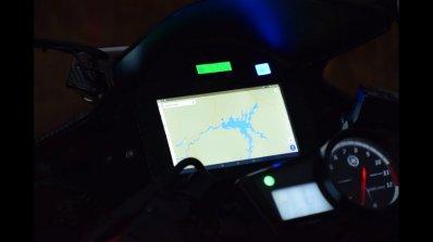 Modified Yamaha R15 gets fingerprint start-up, automatic