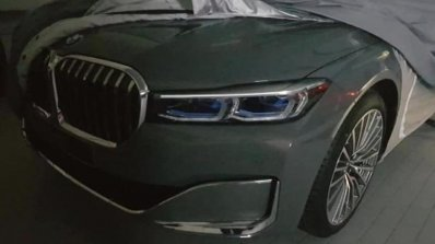 2019 Bmw 7 Series Facelift Front End Leaked