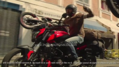 Bajaj Dominar 400 2019 Front Left Quarter