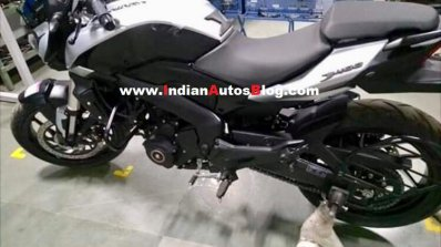 2019 Bajaj Dominar 400 White Colour Spied Left Sid