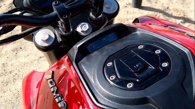 2019 Bajaj Dominar 400 First Impressions Fuel Tank