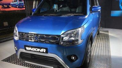 Accessorised 2019 Maruti Wagonr Blue