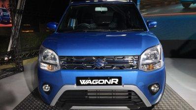 Accessorised 2019 Maruti Wagonr Blue Front