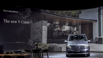 2019 Mercedes V Class Facelift Front