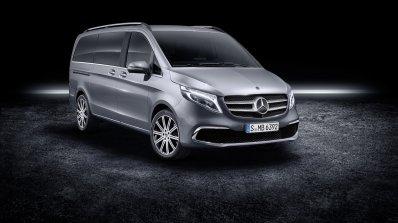 2019 Mercedes V Class Facelift Front Three Quarter