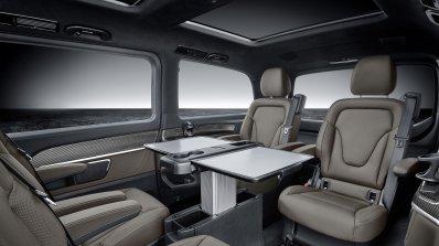 2019 Mercedes V Class Facelift Rear Cabin Tray Tab